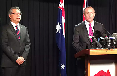 JAY WEATHERILL AND HIEU VAN LE